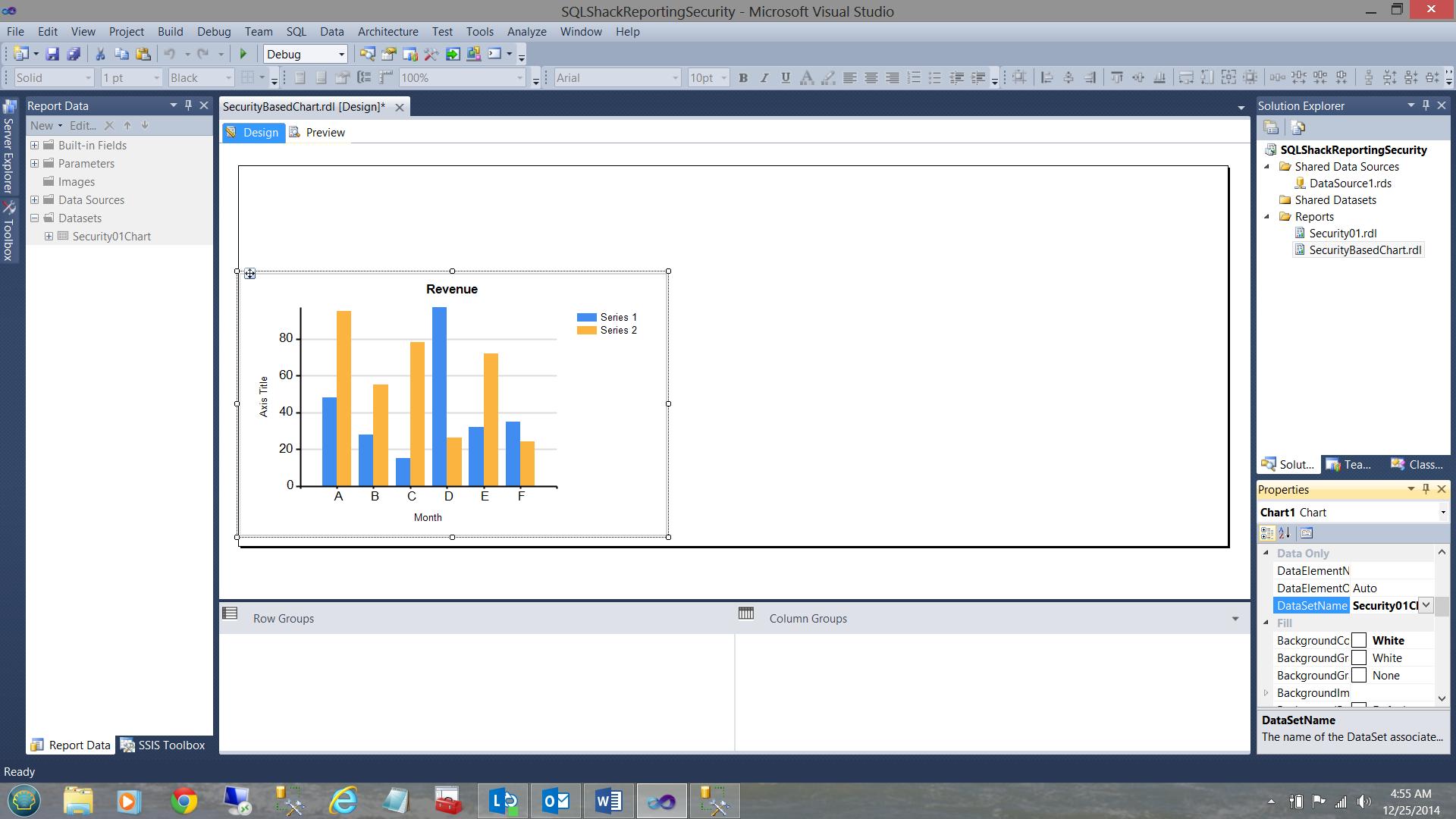 SQL Server安全机制–如何控制用户能够在报告中查看哪些数据22