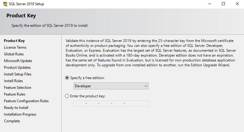 在Windows Server 2016和SQL Server Always On可用性组上安装SQL Server 20198