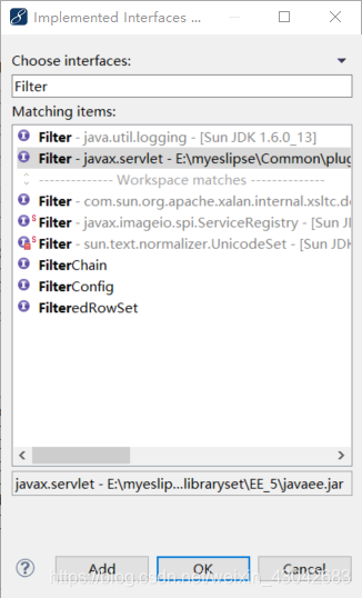Filter--过滤器:创建一个过滤器,对所有的请 求进行过滤,并在控制台上打印被 请求的 URI。2