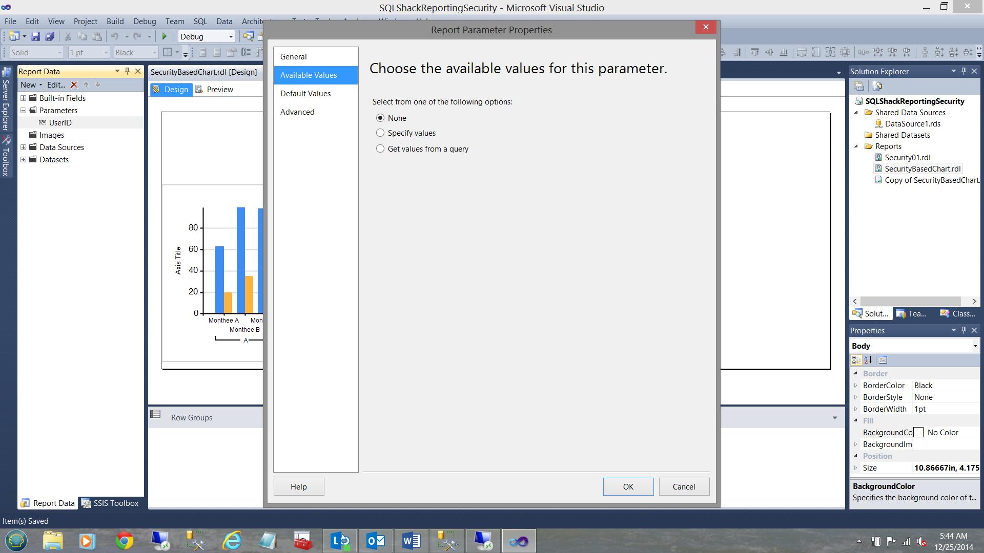 SQL Server安全机制–如何控制用户能够在报告中查看哪些数据28