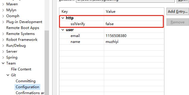 Transport Error: Cannot get remote repository refs.https://github.com/xxx/test1.git: cannot open git3