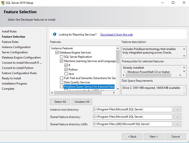 在Windows Server 2016和SQL Server Always On可用性组上安装SQL Server 201912