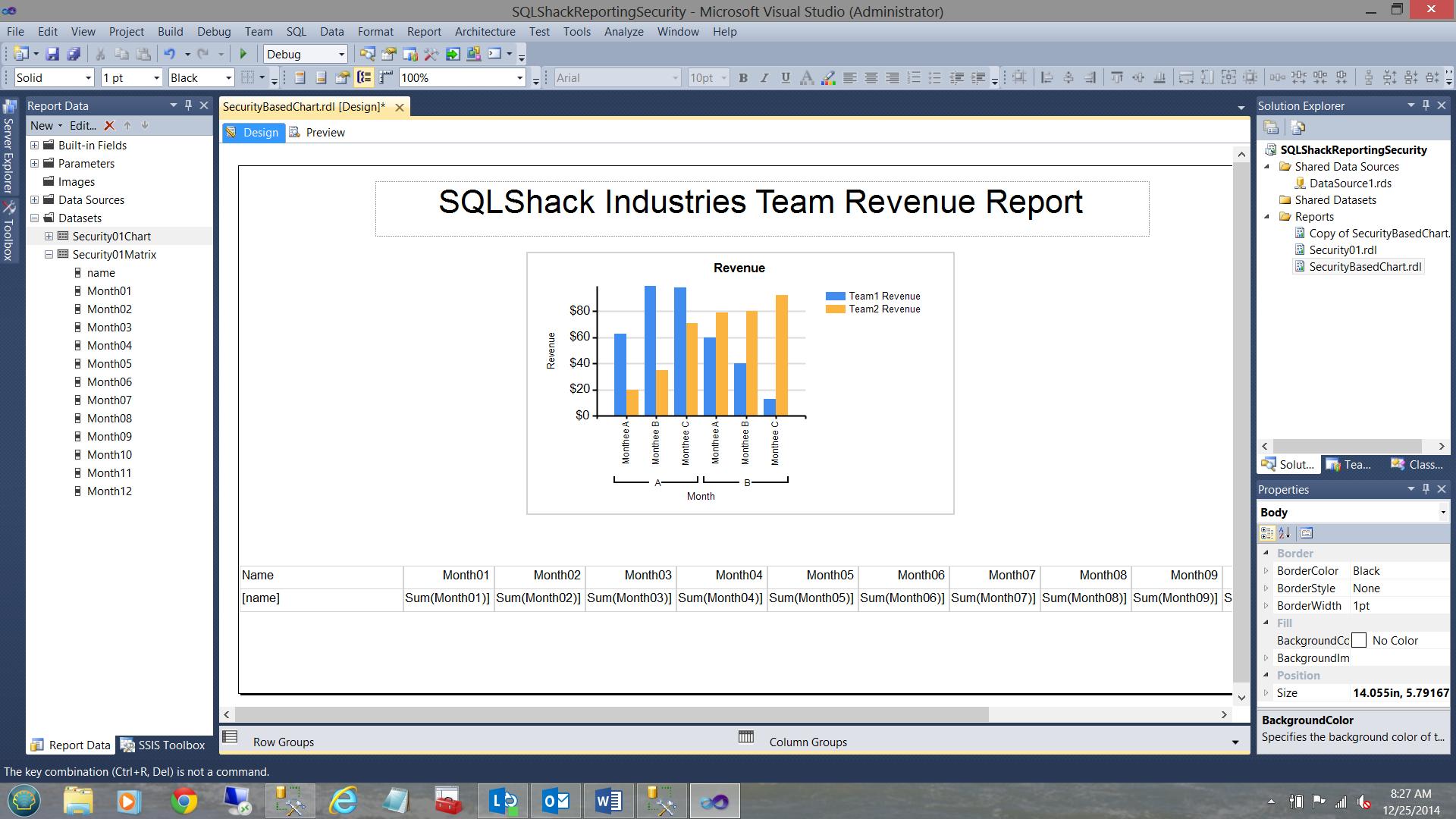 SQL Server安全机制–如何控制用户能够在报告中查看哪些数据39