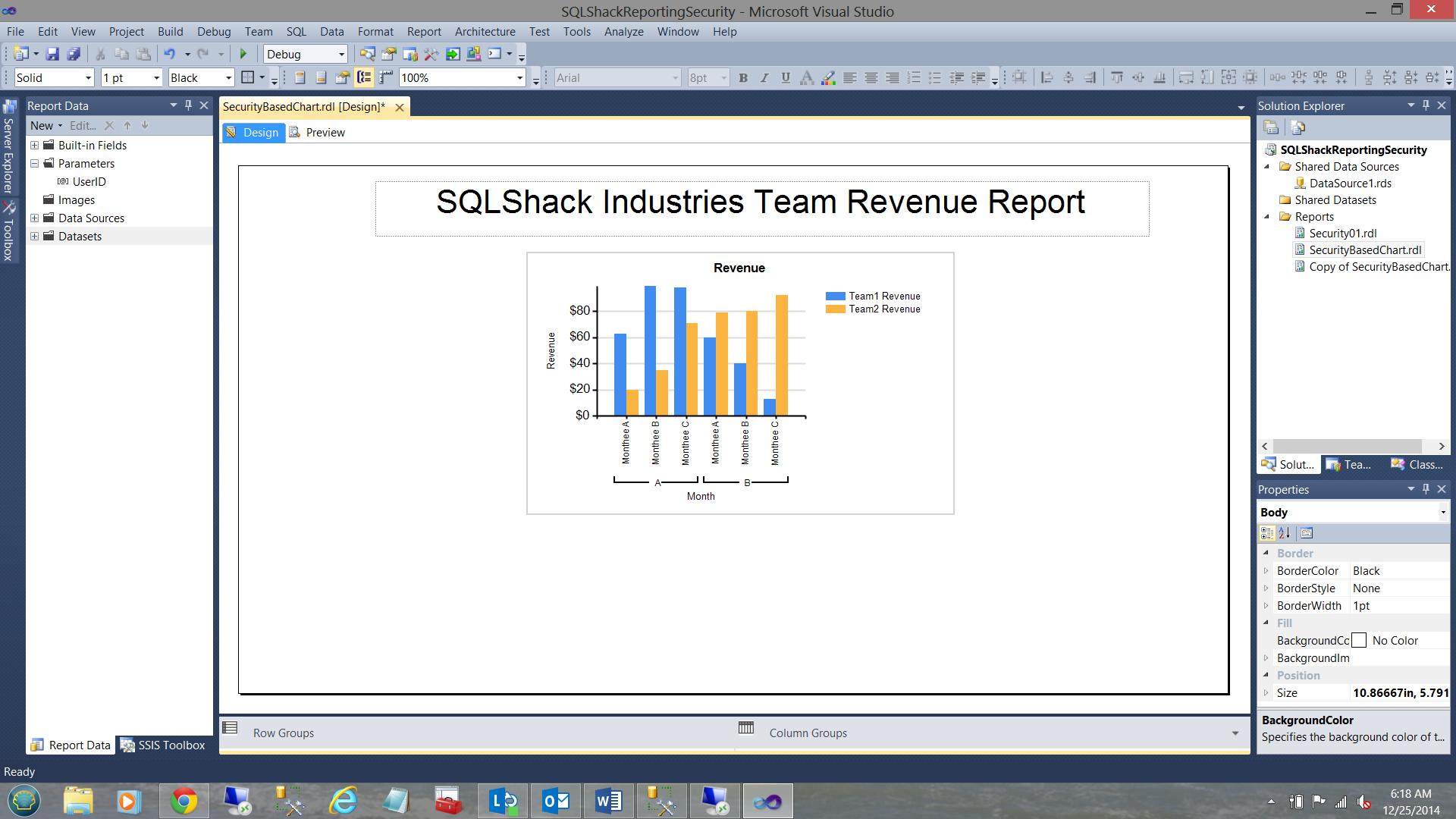 SQL Server安全机制–如何控制用户能够在报告中查看哪些数据34