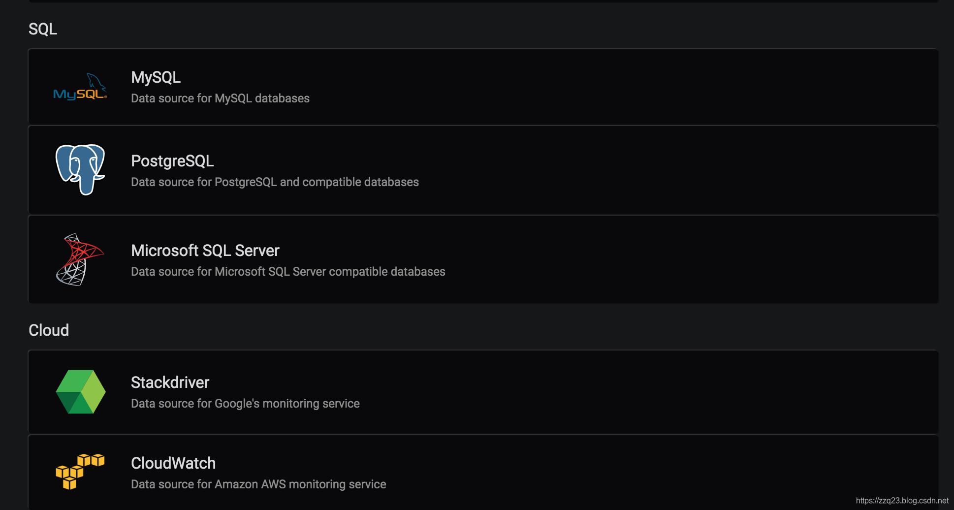 grafana使用MYSQL数据源展示3