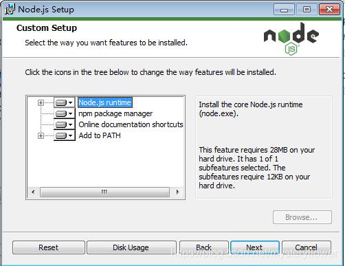 nodejs+react+redux环境安装2