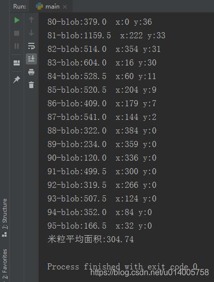 OpenCV 识别图片中的米粒个数,并计算米粒的平均面积和长度(转)4