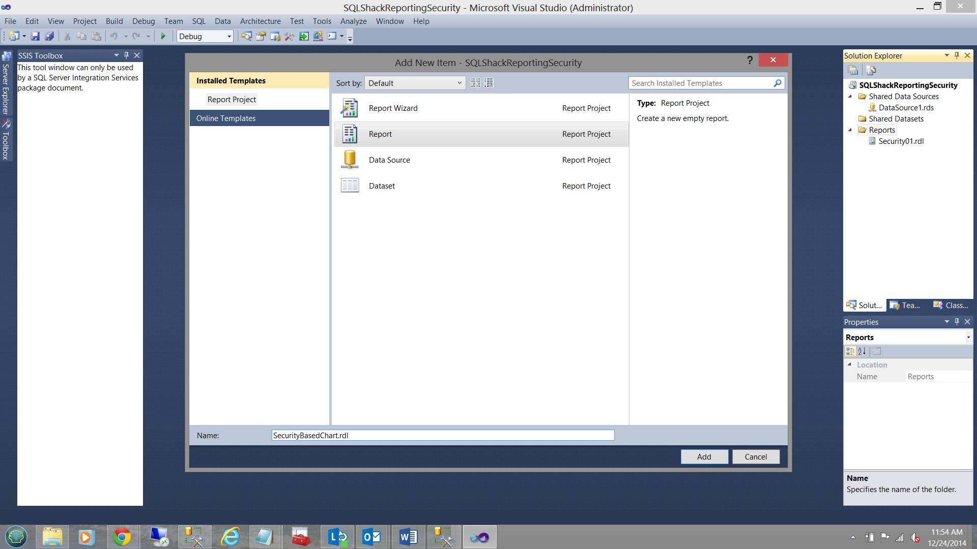 SQL Server安全机制–如何控制用户能够在报告中查看哪些数据15