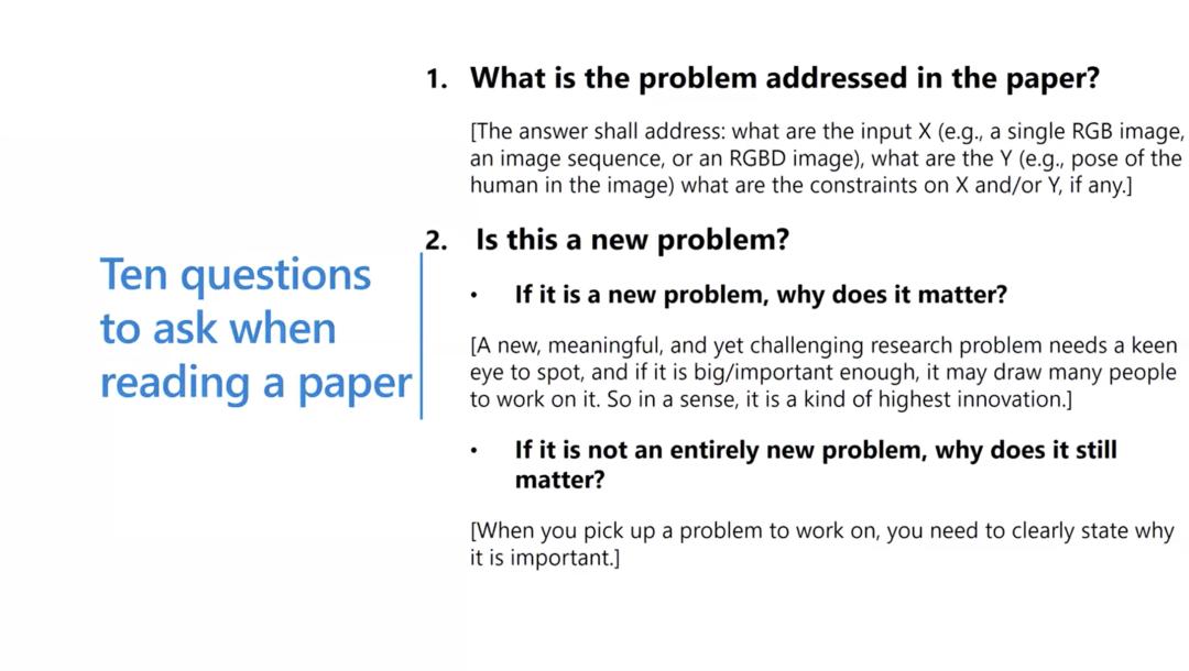沈向洋、华刚:读科研论文的三个层次、四个阶段与十个问题11