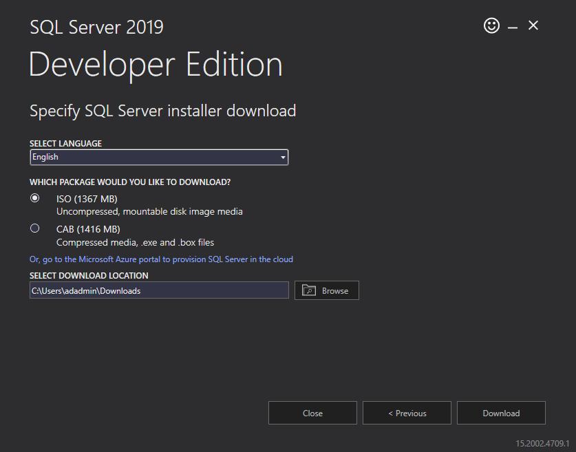 在Windows Server 2016和SQL Server Always On可用性组上安装SQL Server 20193