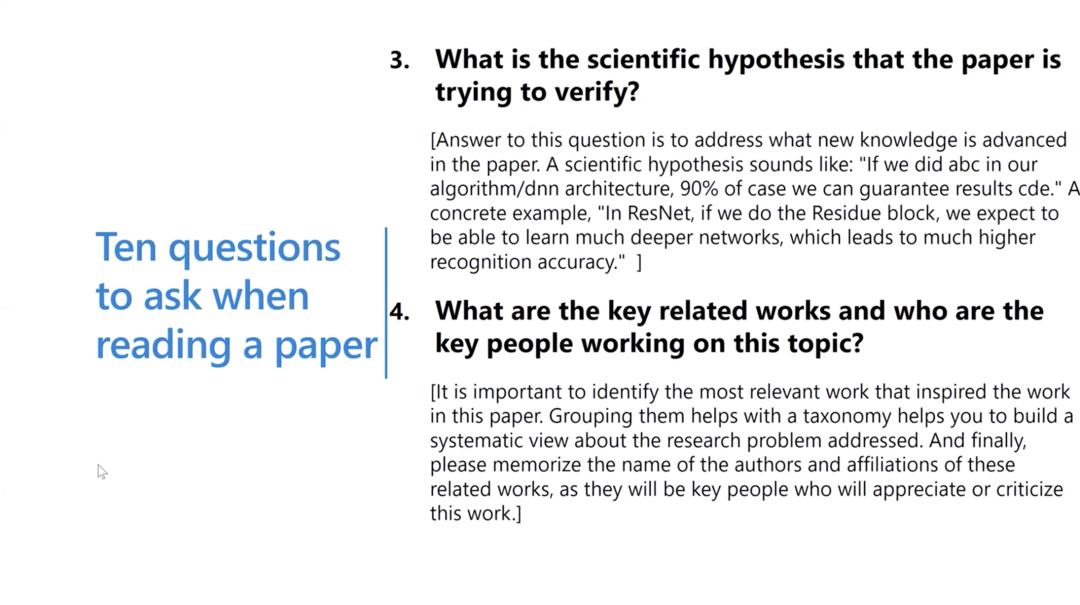 沈向洋、华刚:读科研论文的三个层次、四个阶段与十个问题12