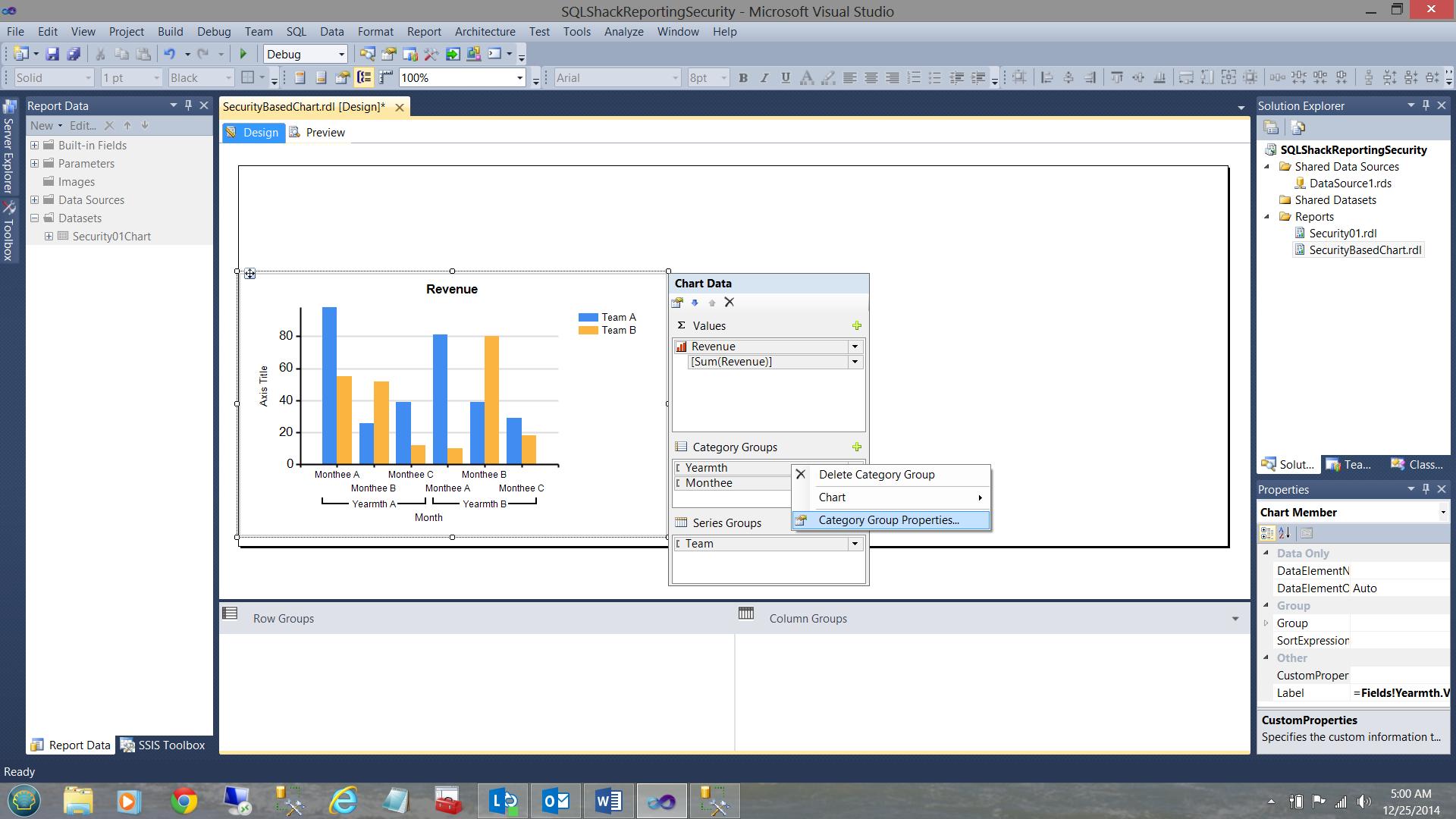 SQL Server安全机制–如何控制用户能够在报告中查看哪些数据24