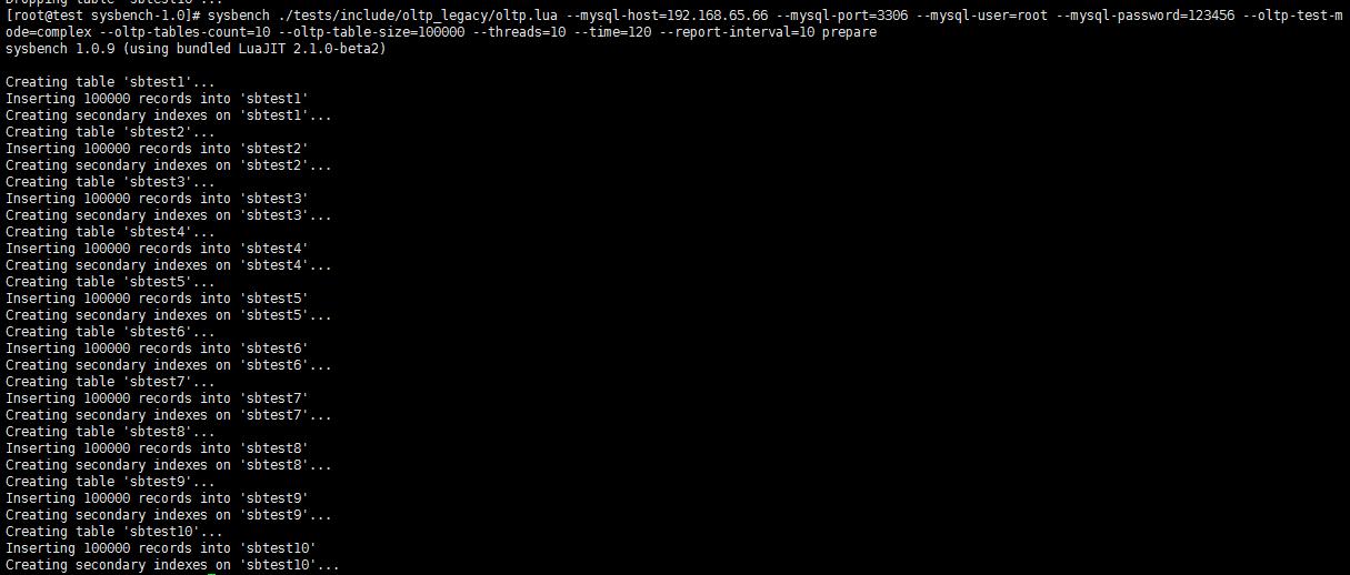 性能测试--【MySQL】Sysbench 性能压测1