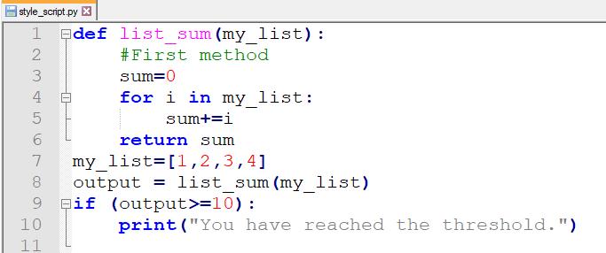 【Python基础】如何编写简洁美观的Python代码2