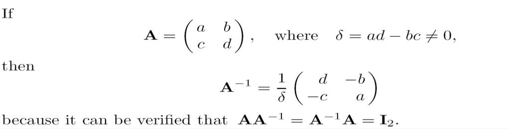 矩阵代数12