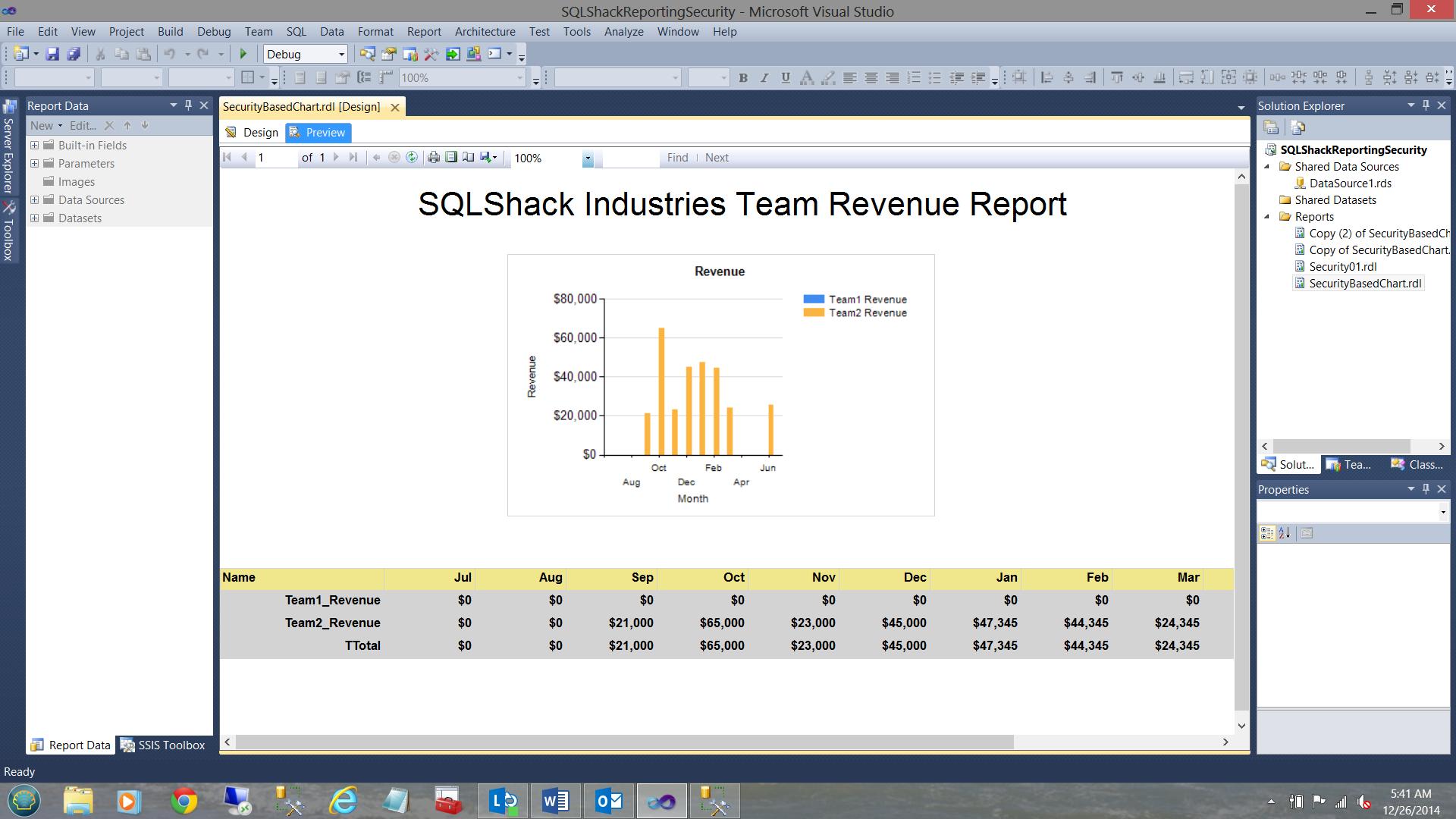 SQL Server安全机制–如何控制用户能够在报告中查看哪些数据42