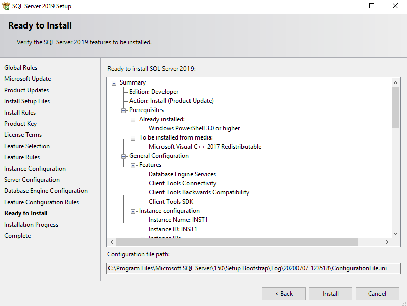 在Windows Server 2016和SQL Server Always On可用性组上安装SQL Server 201923