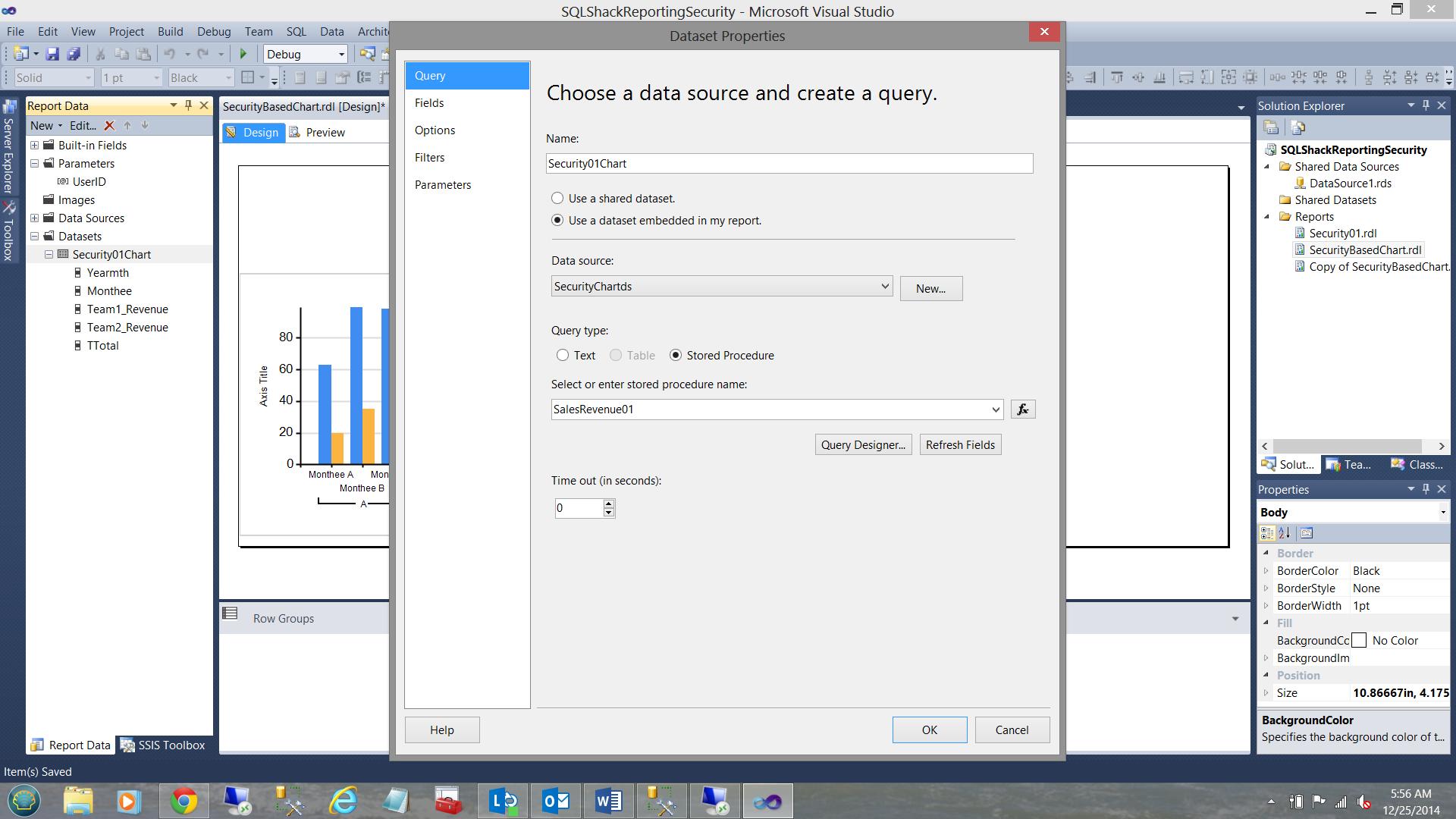 SQL Server安全机制–如何控制用户能够在报告中查看哪些数据31