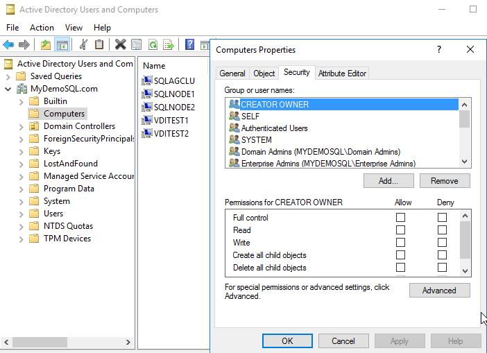 在Windows Server 2016和SQL Server Always On可用性组上安装SQL Server 201946