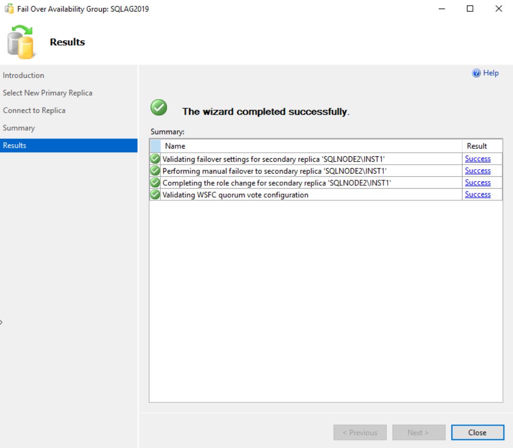 在Windows Server 2016和SQL Server Always On可用性组上安装SQL Server 201955