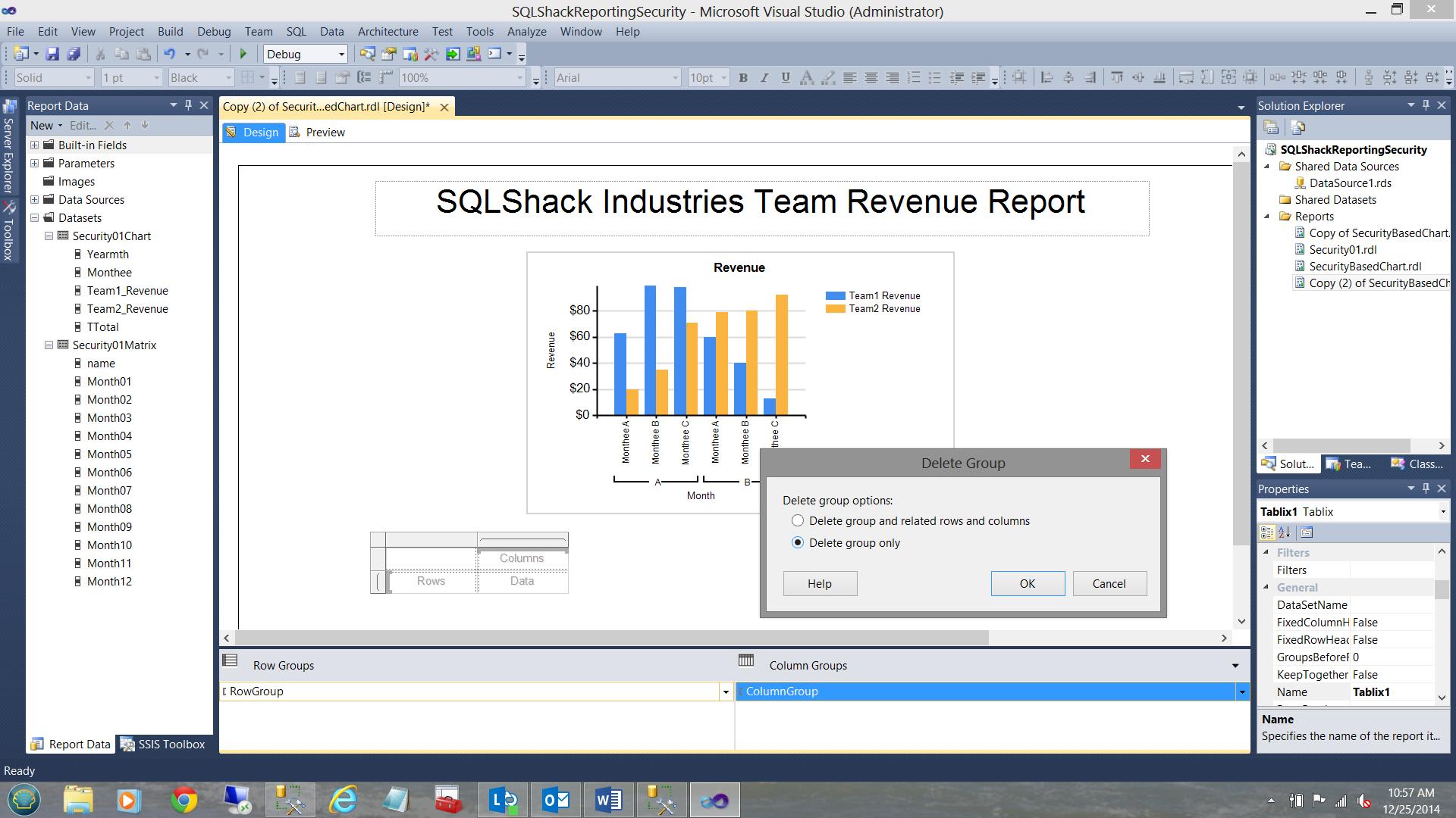 SQL Server安全机制–如何控制用户能够在报告中查看哪些数据38