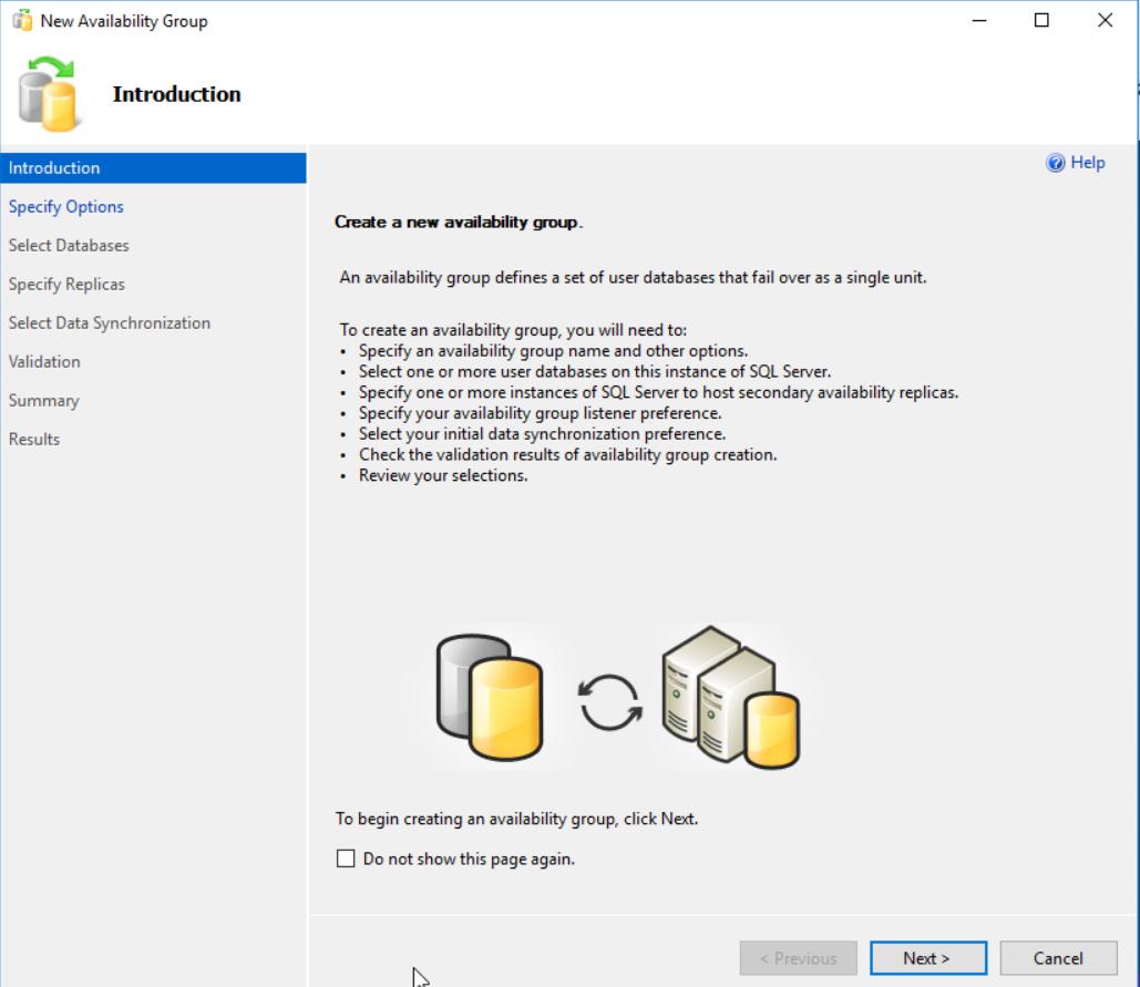 在Windows Server 2016和SQL Server Always On可用性组上安装SQL Server 201931