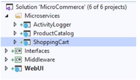 .NET Core:通过Web API进行微服务交互1