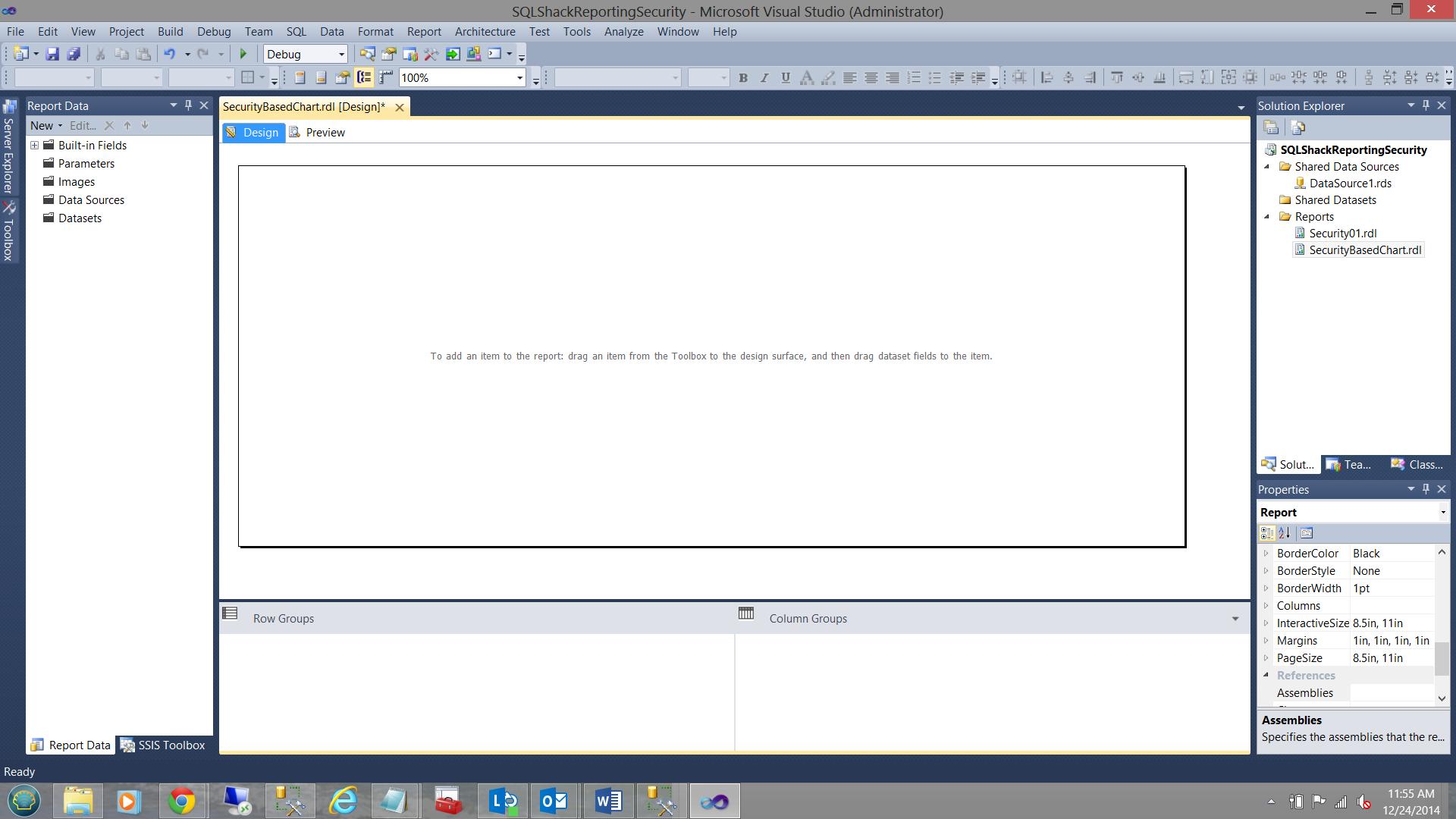 SQL Server安全机制–如何控制用户能够在报告中查看哪些数据16