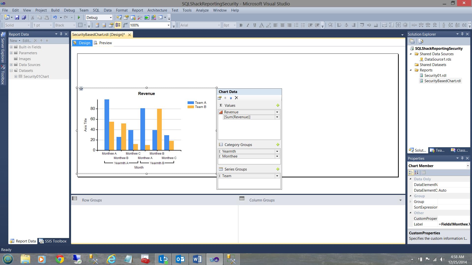 SQL Server安全机制–如何控制用户能够在报告中查看哪些数据23