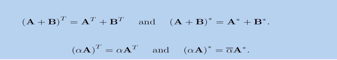 矩阵代数4